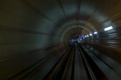 göra sammandrag tunnelen Arkivfoton