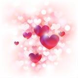 göra sammandrag valentinen för bakgrundsdag s Royaltyfri Bild