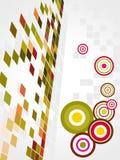 göra sammandrag vektorn för konstcirkelmosaiken Fotografering för Bildbyråer