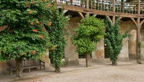 Göra till drottning Hamlet i parkera av den Versailles slotten Arkivfoton