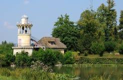 Göra till drottning Hamlet i parkera av den Versailles slotten Arkivbild