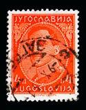 Göra till kung Alexander (1888-1934), serie, circa 1931 Royaltyfria Foton