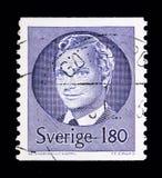 Göra till kung Carl XVI Gustaf, serie, circa 1983 Fotografering för Bildbyråer
