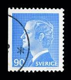 Göra till kung Carl XVI Gustaf, serie, circa 1975 Arkivfoton