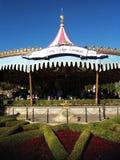 Göra till kung den Arthur carrouselen på Disneyland Royaltyfri Fotografi