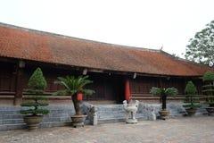Göra till kung den An Duong Vuong templet i Co Loa Citadel, Vietnam Fotografering för Bildbyråer