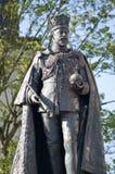 Göra till kung den Edward VII statyn, avläsning, Berkshire Arkivfoto