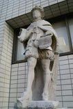 Göra till kung den Henry VIII statyn i London, England Royaltyfria Foton