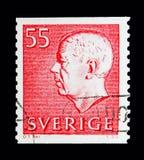 Göra till kung Gustaf VI Adolf, serie, circa 1969 Arkivfoton