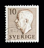 Göra till kung Gustaf VI Adolf, serie, circa 1954 Arkivbilder
