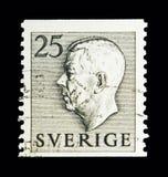 Göra till kung Gustaf VI Adolf, serie, circa 1951 Arkivbild