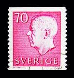 Göra till kung Gustaf VI Adolf, serie, circa 1967 Royaltyfria Bilder