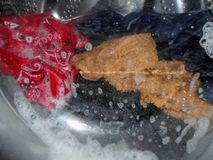 göra tvätterit arkivfoton