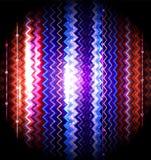 Görad randig abstrakt bakgrund för vektor sicksack vektor illustrationer