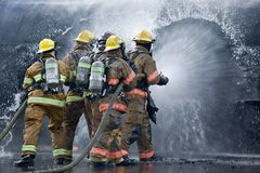 görade genomvåt brandmän