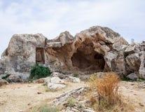 görar till kung tomben Arkivbild