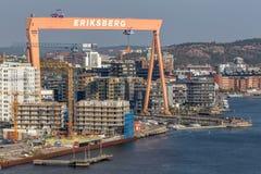 Göteborg - Eriksberg royaltyfri foto