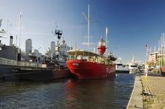 Göteborg (Gothenburg) harbor Royalty Free Stock Photos