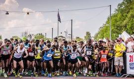 ¡GöteborgsVarvet medio maratón 15-19 de mayo de 2013! Imagen de archivo