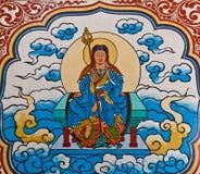 Götter auf den Wänden lizenzfreie stockfotos