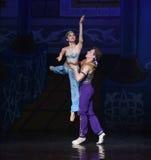 """Göttin-Dprinzessin war in hohem Grade verehrtes Ballett """"One tausend und eins Nightsâ€- Lizenzfreies Stockfoto"""