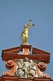 Göttin-Gerechtigkeit Stockfoto