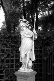 Göttin Minerva-Statue in StPetersburg lizenzfreie stockfotografie