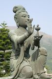 Göttin-Statue Stockfoto