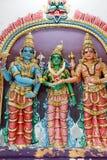 Göttin und Tempel Lizenzfreies Stockbild