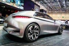 Göttliches DS Konzept Citroen, Autoausstellung Genf 2015 Stockbild