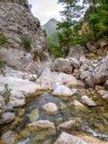 Göynük canyon, Turkey Royalty Free Stock Images