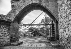 Güell Cellar - Garraf, Barcelona Spain. GARRAF, SPAIN - OCTOBER 11, 2016: Celler Güell by Antoni Gaudi. Garraf, Barcelona province, Catalonia, Spain Stock Photo
