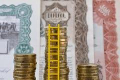 Günstige Möglichkeiten der Geldanlage Stockbilder