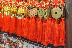Günstige Verzierungen des Chinesischen Neujahrsfests Stockfotos