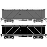 Güterwagen Stockfotos