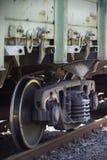 Güterwagen geparkt Lizenzfreie Stockfotos
