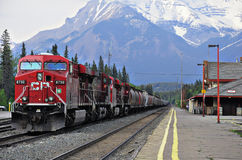 Güterzug. Stockbild
