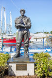 Gąbka nurka pomnika statua fotografia royalty free