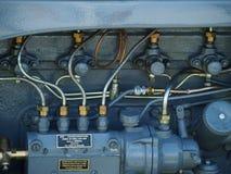 Gąsienicowy Ciągnikowy silnik Fotografia Royalty Free