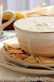 gęsta zupa rybna małża Obrazy Stock