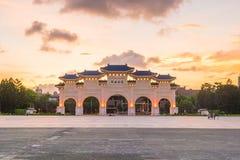 Główna Brama obywatel Chiang Kai-shek Memorial Hall w Taipei C obrazy royalty free