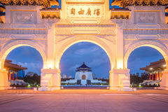 Główna Brama obywatel Chiang Kai-shek Memorial Hall w Taipei C obrazy stock