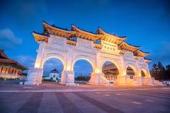 Główna Brama obywatel Chiang Kai-shek Memorial Hall w Taipei C fotografia stock