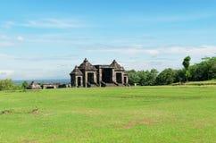 Główna brama ratu boko pałac kompleks Fotografia Royalty Free