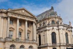 Główna fasada pałac Versailles Zdjęcie Stock