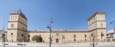 Główna fasada szpital de Santiago, Ubeda, Jaen, Hiszpania obraz royalty free
