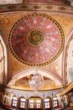 Główna kopuła Cesarski Hall harem w Topkapi pałac Zdjęcie Royalty Free