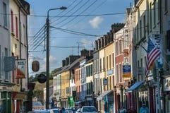 Główna Ulica Bantry w okręgu administracyjnego korku Irlandia Obrazy Stock