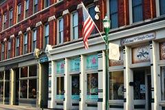 Główna Ulica Georgetown, Kentucky obraz stock