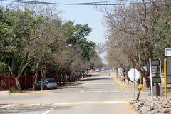 Główna ulica w Cullinan, Południowa Afryka Zdjęcie Royalty Free